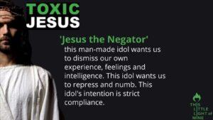 Jesus the Negator